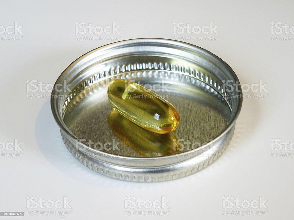vitamin pill stock photo