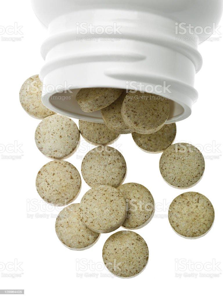 Vitamin Pills royalty-free stock photo