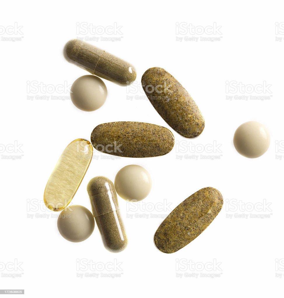 Vitamina pastillas - foto de stock