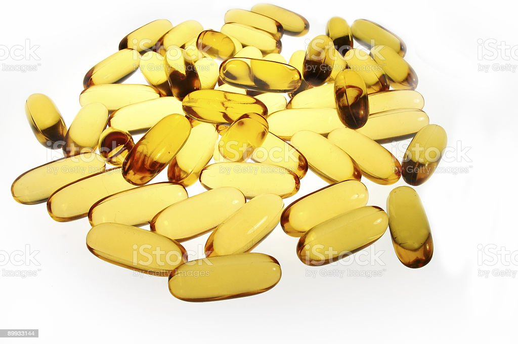 Vitamin Pills royalty-free stock photo