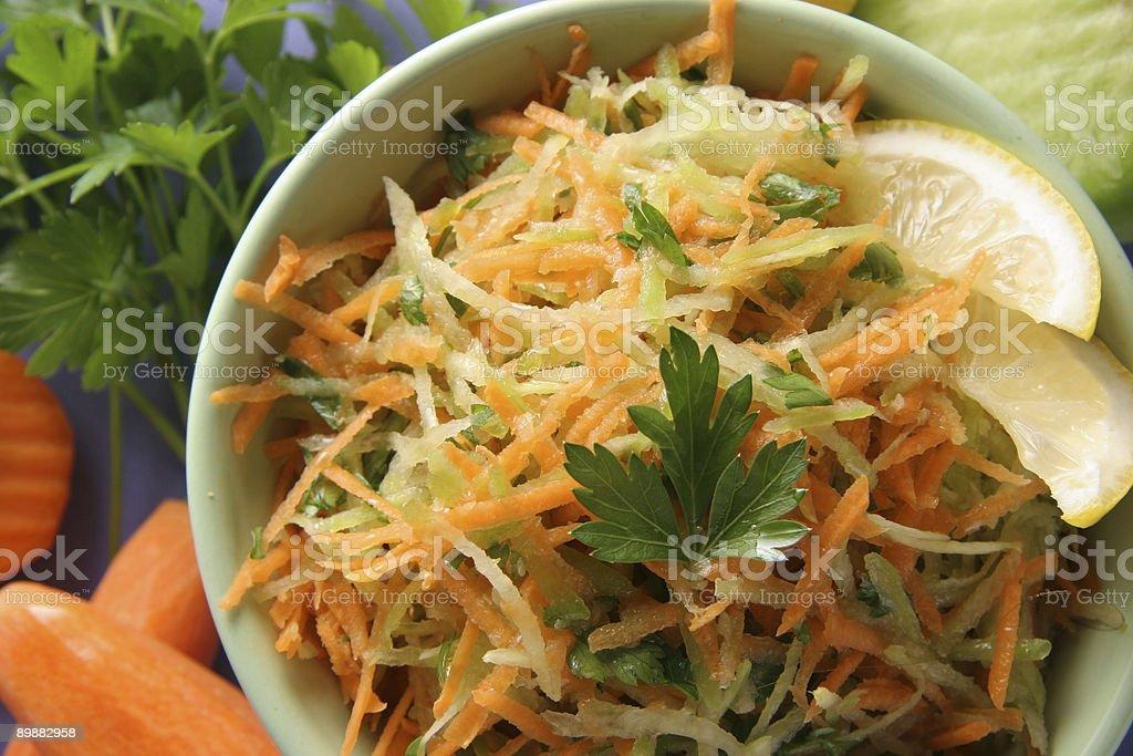 Vitamina ensaladas. foto de stock libre de derechos