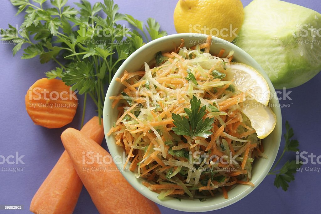 Vitamin salad. stock photo