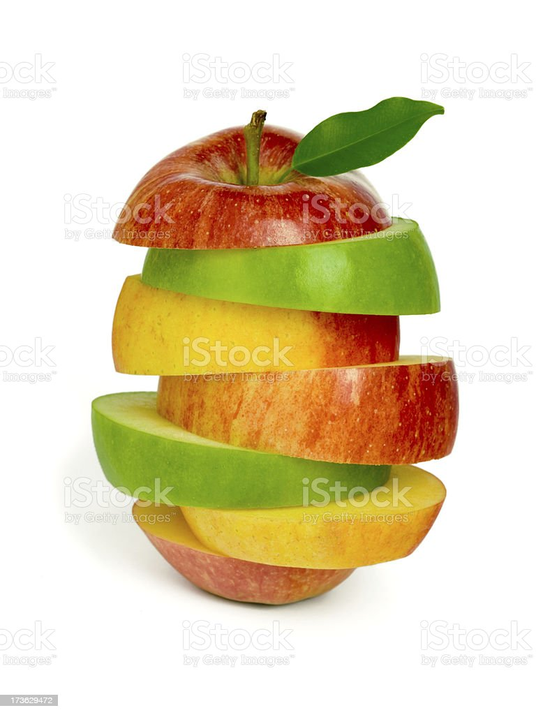 Vitamin sandwich. royalty-free stock photo