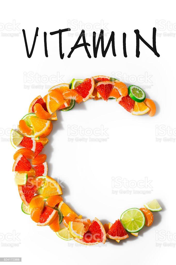 Vitamine C stock photo