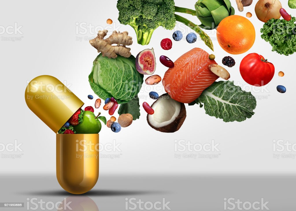 Vitamins Supplements royalty-free stock photo
