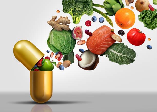 vitamin-ergänzungen - nahrungsergänzungsmittel stock-fotos und bilder