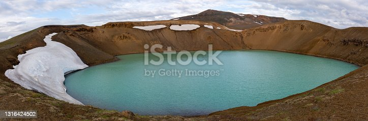 istock Viti crater in Krafla caldera 1316424502