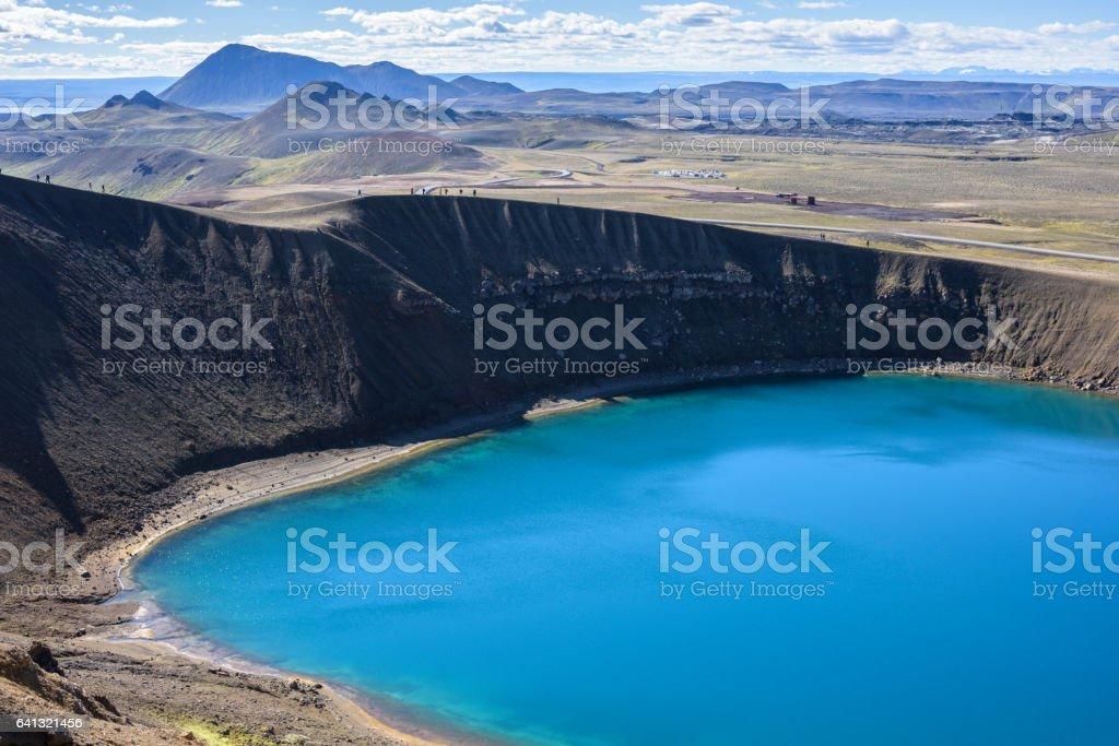 Viti, Krafla, Iceland stock photo