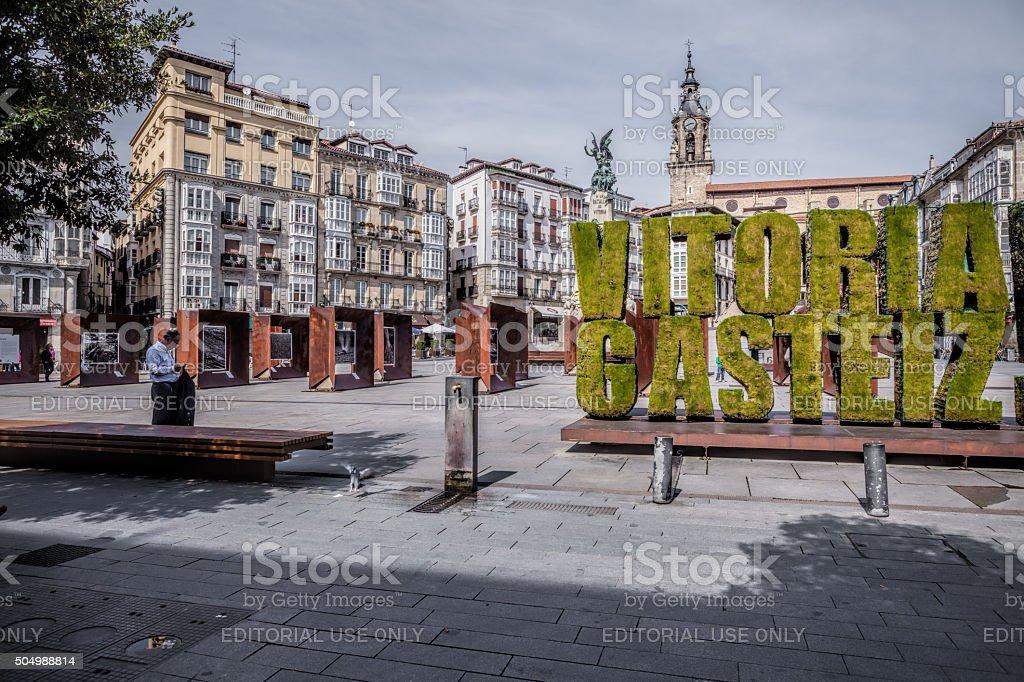 Vitoria-Gasteiz. Spanien. – Foto