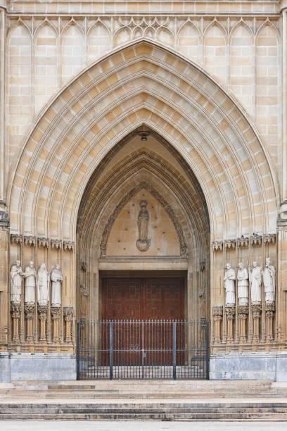 Vitotia-Gasteiz Kirche maria Inmaculada. Baskisches Kulturerbe – Foto