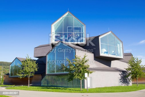 Weil am Rhein, Germany - September 22, 2013: The Vitra Haus is design museum of classic and contemporary furniture, located in Weil am Rhein, Germany. The Vitra Haus was opened in 2010 and is the visitor center of the Vitra Campus. It was constructed by the architects Herzog + Meuron.
