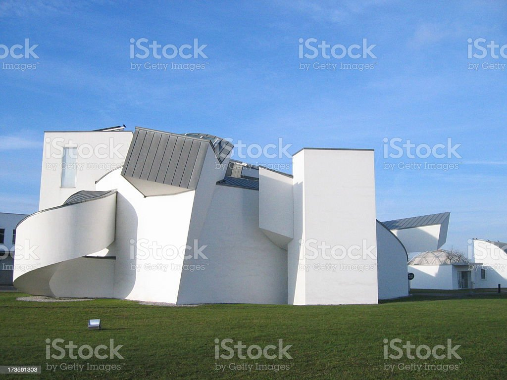 Vitra Museum in Germany stock photo