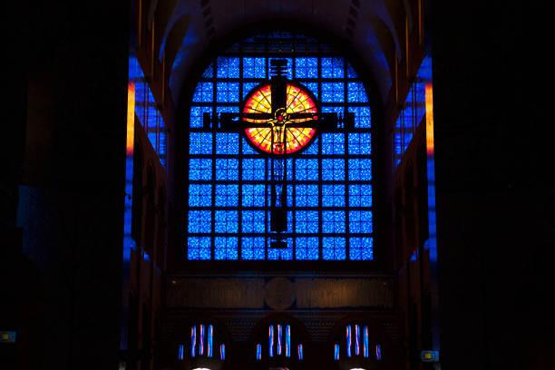 Vitrais Basílica Aparecida - foto de acervo