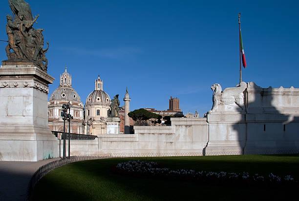 Vittoriano Rome stock photo