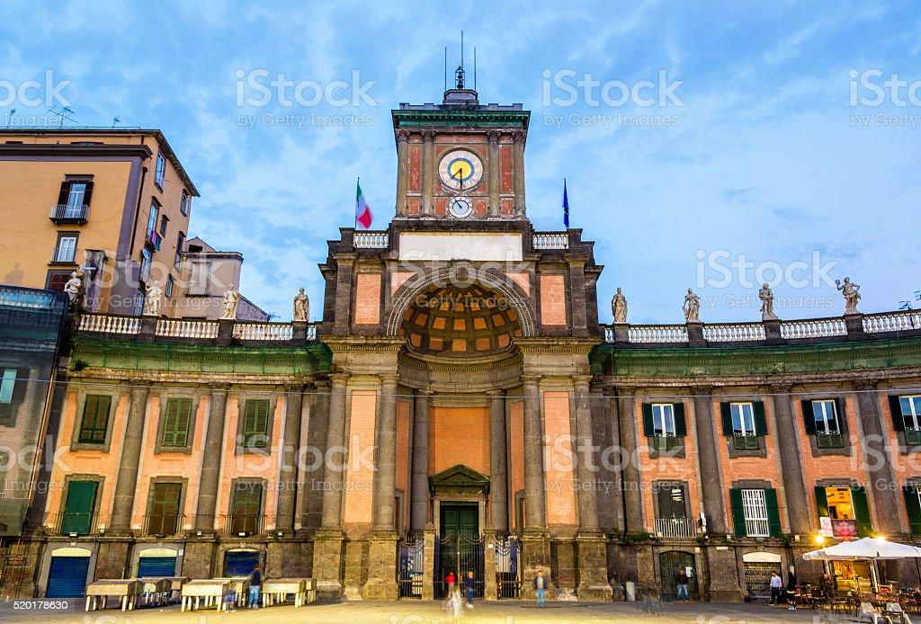Vittorio Emanuele II National Boarding School, historical and religious complex stock photo
