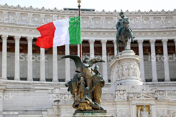 Photo of Vittorio Emanuele in Rome, Italy