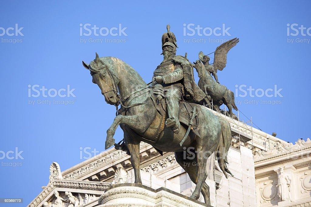 Vittorio Emanuele-Denkmal Lizenzfreies stock-foto