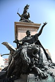 Vittorio Emmanuel II Statue along the seaside, Venice
