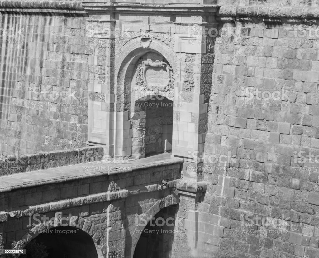 Vittoriosa Advanced Gate stock photo