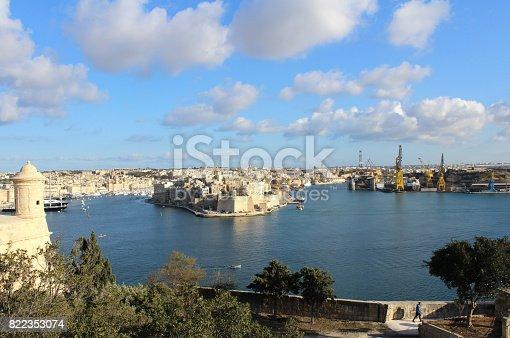istock Vittoriosa, Senglea and Cospicua, The Three Cities Republic of Malta 822353074