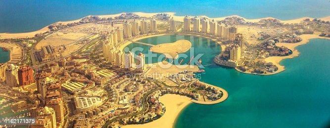 istock Viva Bahriya Qatar aerial 1162171375