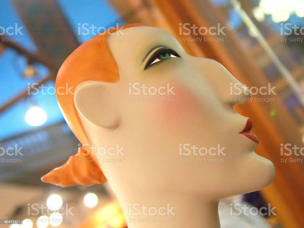 Viva Le' Mannequin 5 royalty-free stock photo