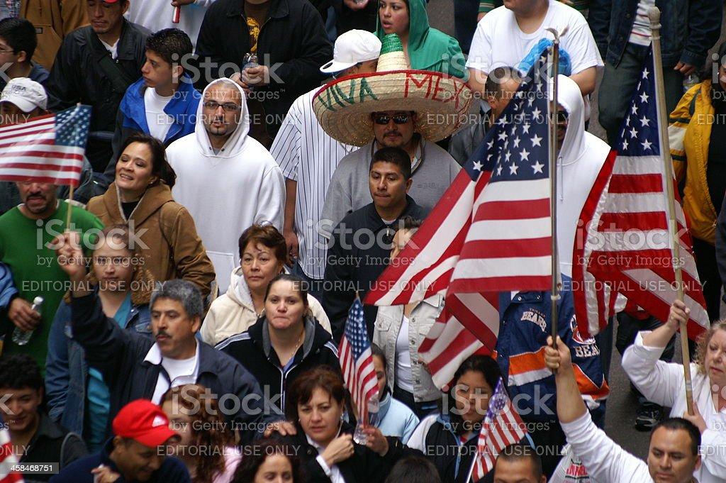 Viva Mexico royalty-free stock photo