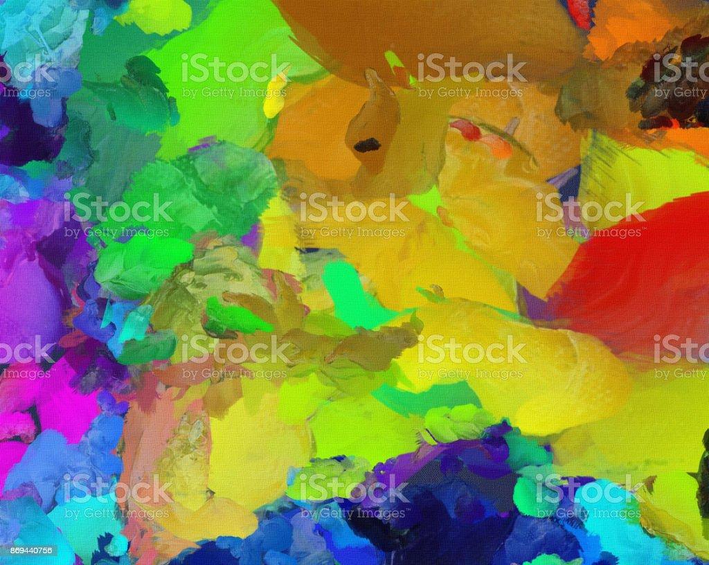 Vivid colors stock photo