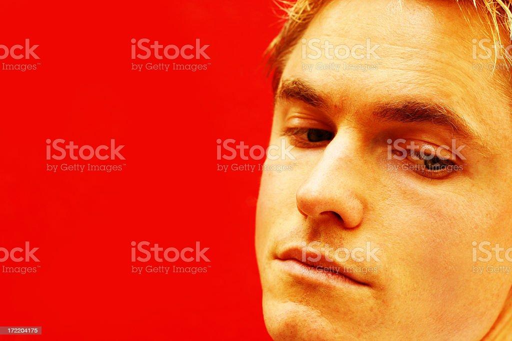 Vivid Face royalty-free stock photo