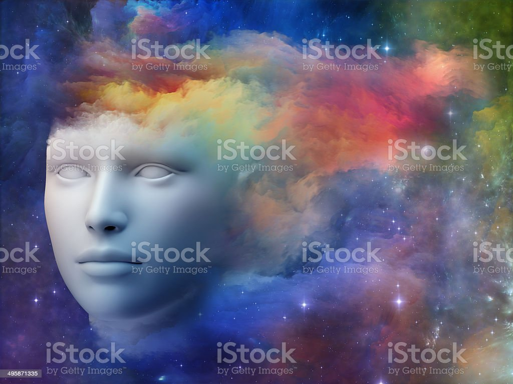 Vivid Mind stock photo
