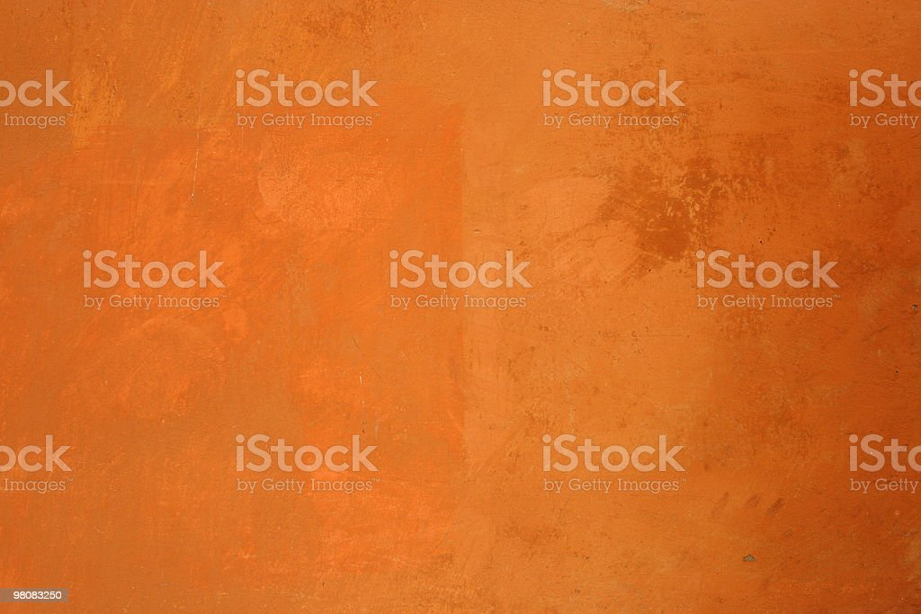 Vivid orange wall royalty-free stock photo