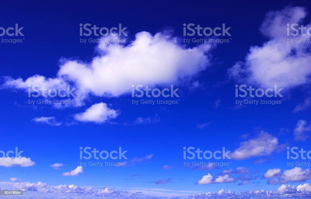 Vivid Sky royalty-free stock photo