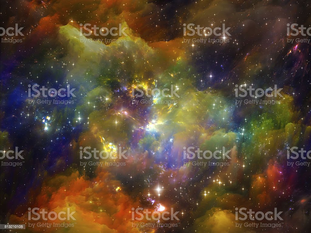 Vivid Space stock photo