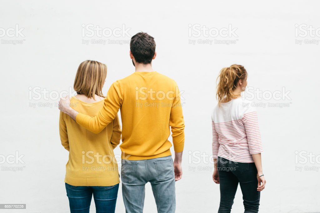 Vivid Student Relationship Different Stages stock photo