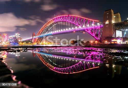 istock Vivid Sydney - Harbour Bridge 904761006