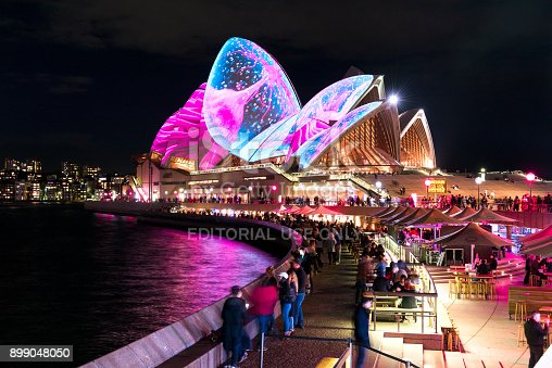 istock Vivid Sydney - Opera House 899048050