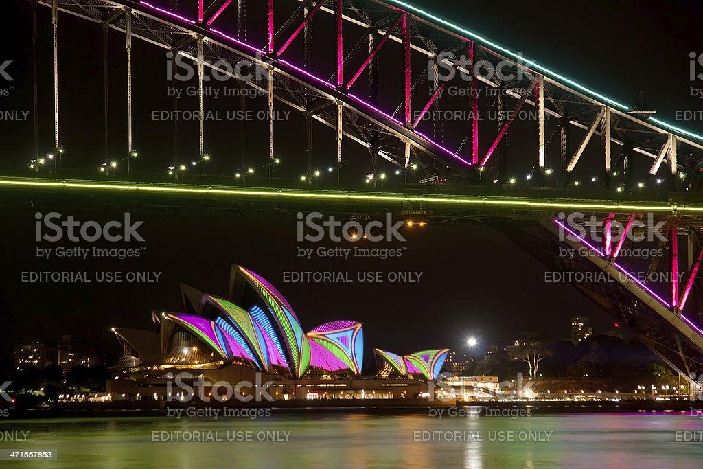 Vivid Sydney stock photo