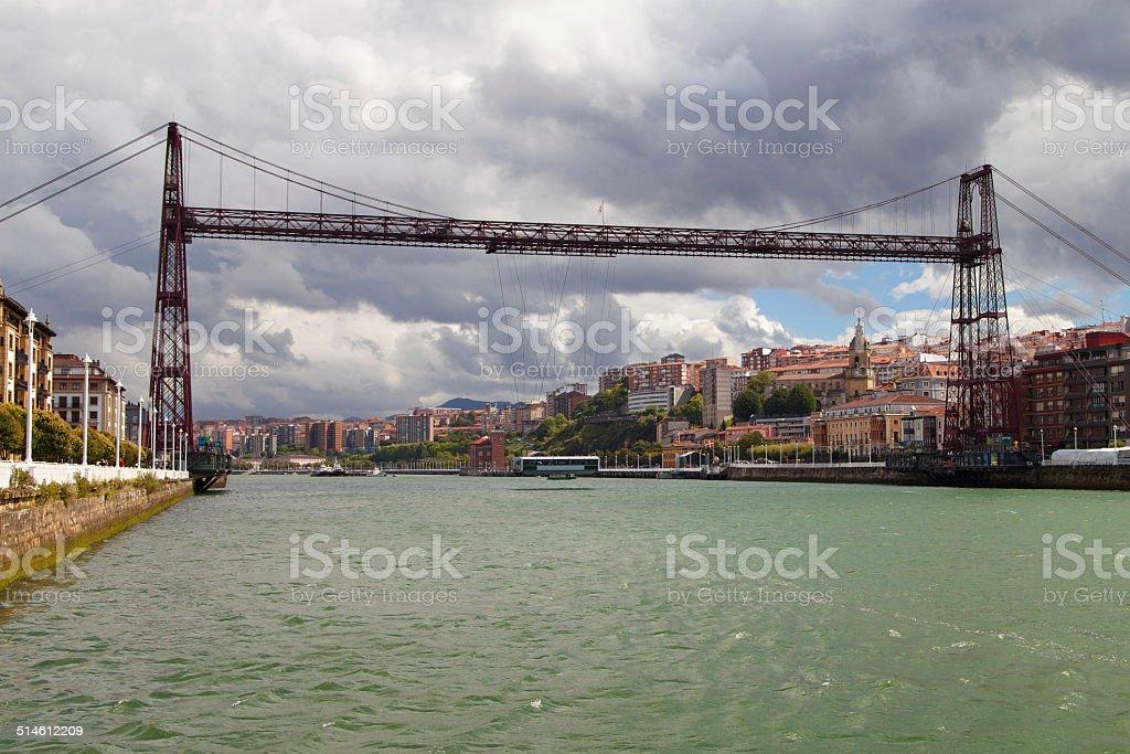 Vizcaya Bridge stock photo