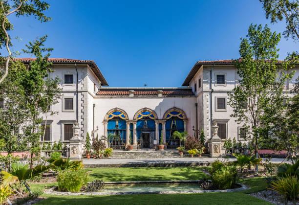 Vizcaya, Floridas größten residence unter blauem Himmel – Foto