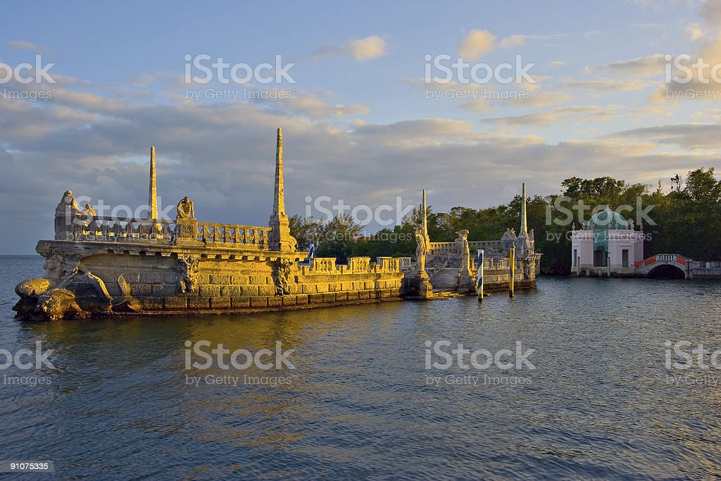 Vizcaya Museum and Gardens royalty-free stock photo