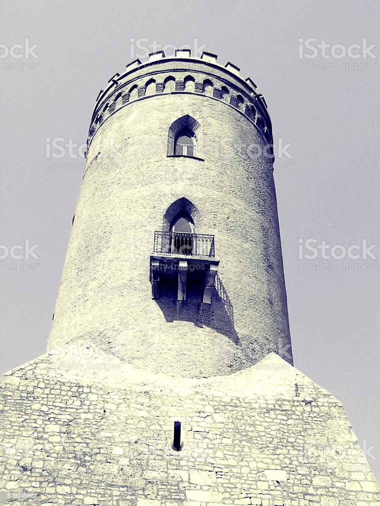 Vlad the Impaler's Tower stock photo