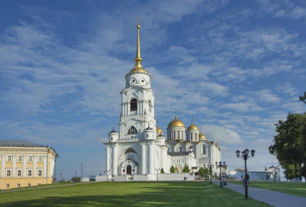 Vladimir Assumption Cathedral stock photo