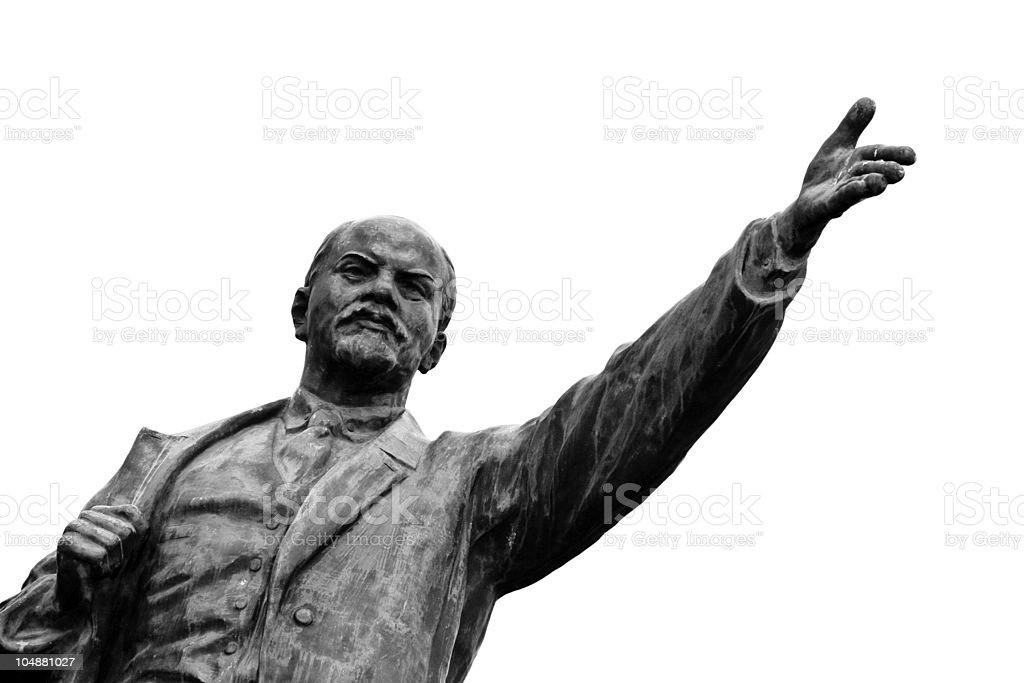 Vladimir Lenin royalty-free stock photo