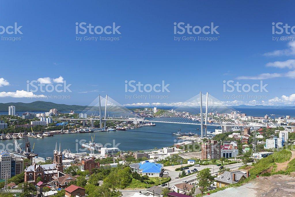 Vladivostok. stock photo