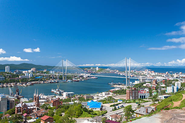 Vladivostok. stock photo