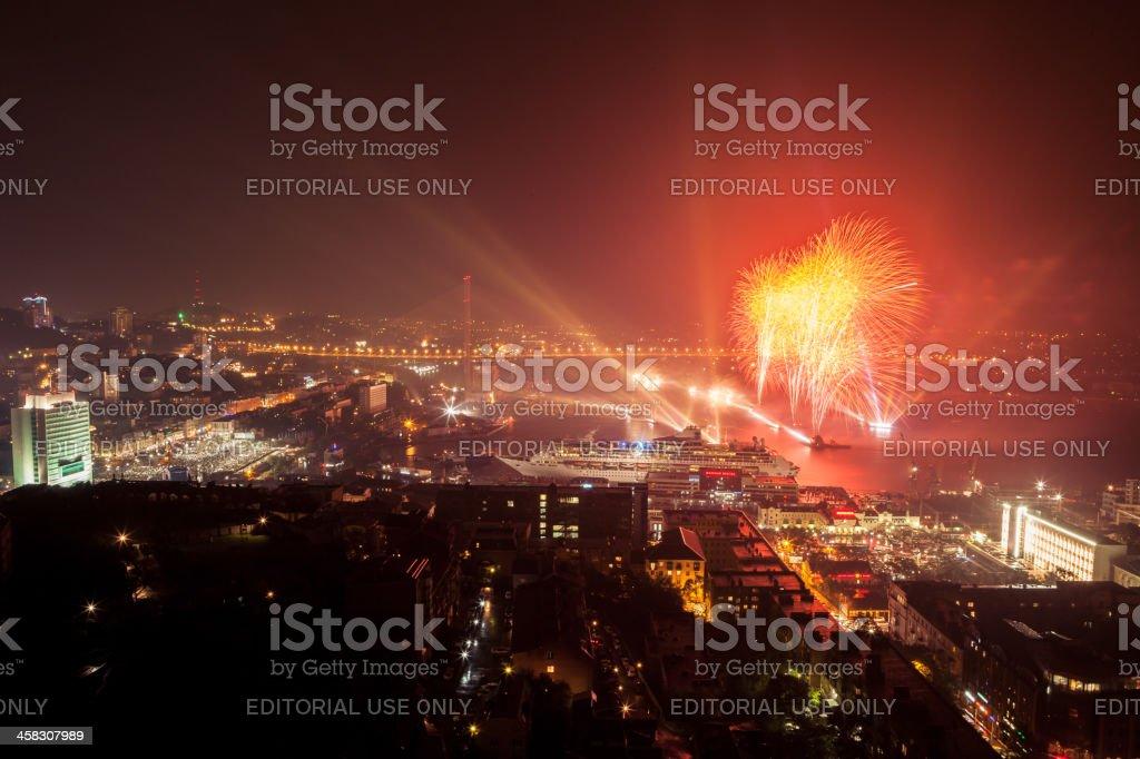 Vladivostok, Russia - September 08, 2012 royalty-free stock photo
