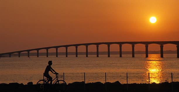 vélo sur l'île de Ré stock photo