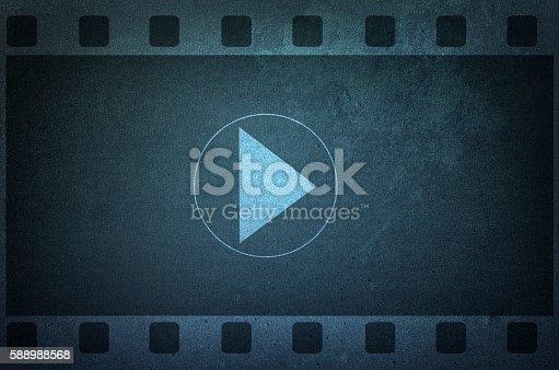 istock Vlog banner, video blogging 588988568