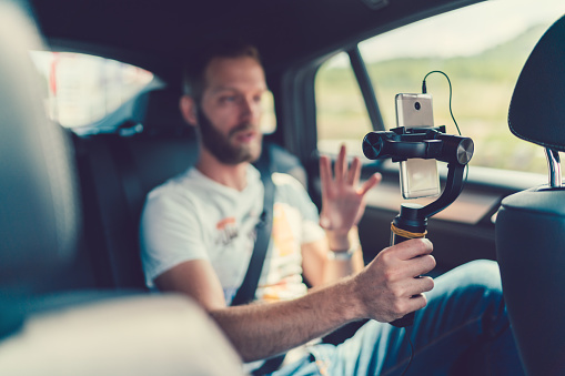 Vlogging Stock Photo - Download Image Now