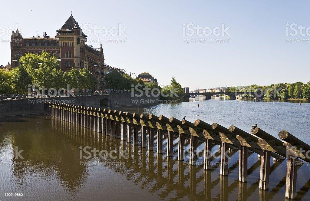 Vltava River royalty-free stock photo